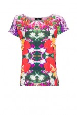 Digital Floral Print T-Shirt, Mango, 1,790 INR