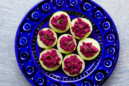 how to make raw beetroot dip