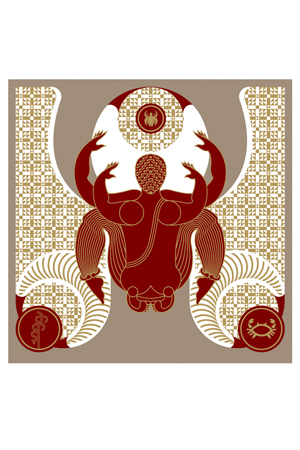 Erogenius Graphic Art - The Crab