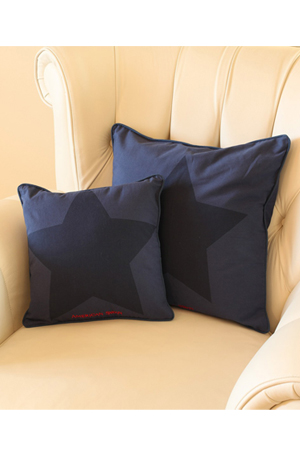 The Blue Star Standard Cushion Cover, 699 INR