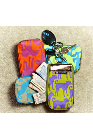 Key Pouches & Money Purses by Poonchh