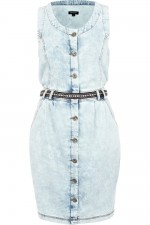 Light Acid Wash Denim Dress, River Island, 3,700 INR Approx