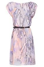 Wrapped Back Printed Dress, Mango, 2,390 INR