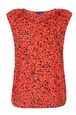 Cheetah Print Top, 3,299 INR
