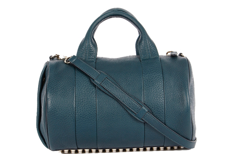 Alexander Wang Rocco Teal Handbag, Was 60,500 INR-Now 36,300 INR