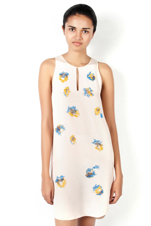 3.1 Phillip Lim Silk Overlap Side Seam Tank Dress, Was 48,250 INR-Now 28,950 INR