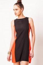 FEMELLA Tunic Dress with Colour Block Panelling, 750 INR