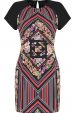 Printed Sheath Dress, 2,490 INR