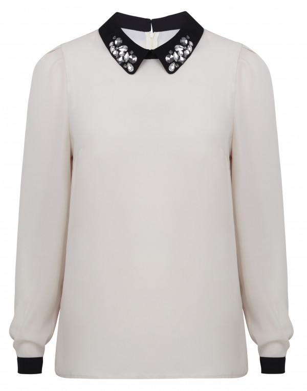 Embellished Collar Shirt, 3,199 INR