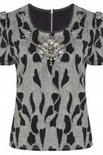 Graphic Print Top, 3,499 INR